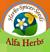 Alfa herbs for export company logo